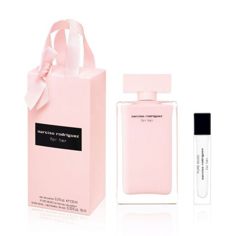 Estuche For Her EDP Spring Shopping Pack 100 ML + For Her Pure Musc