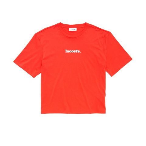 T-Shirt Graphic P/D M/C Energy Red-Blanco