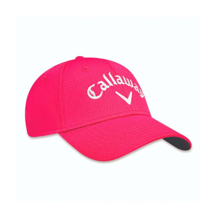 Gorro Performance Side Crested Pink